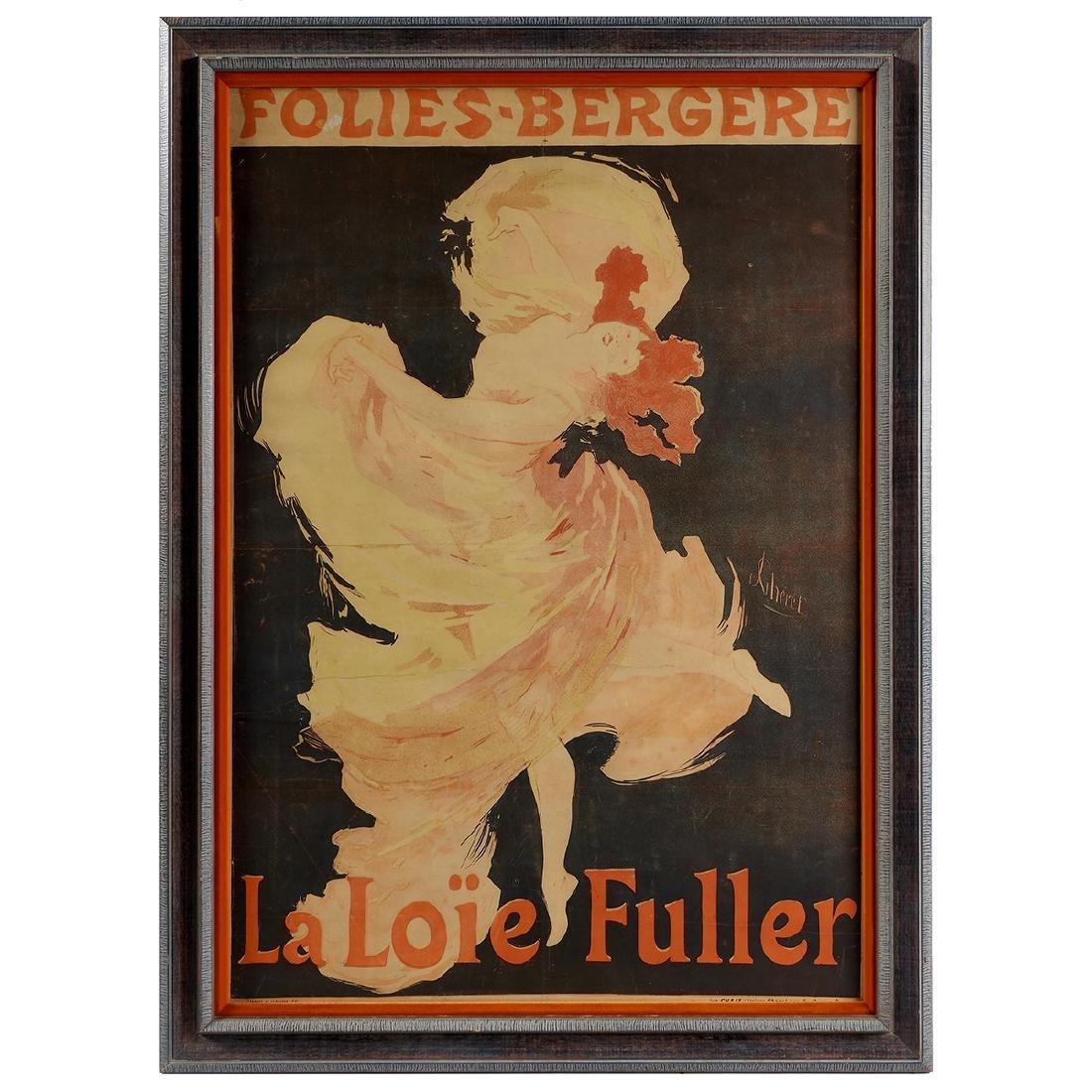 Jules Cheret, Folies-Bergère, La Loïe Fulle - 2