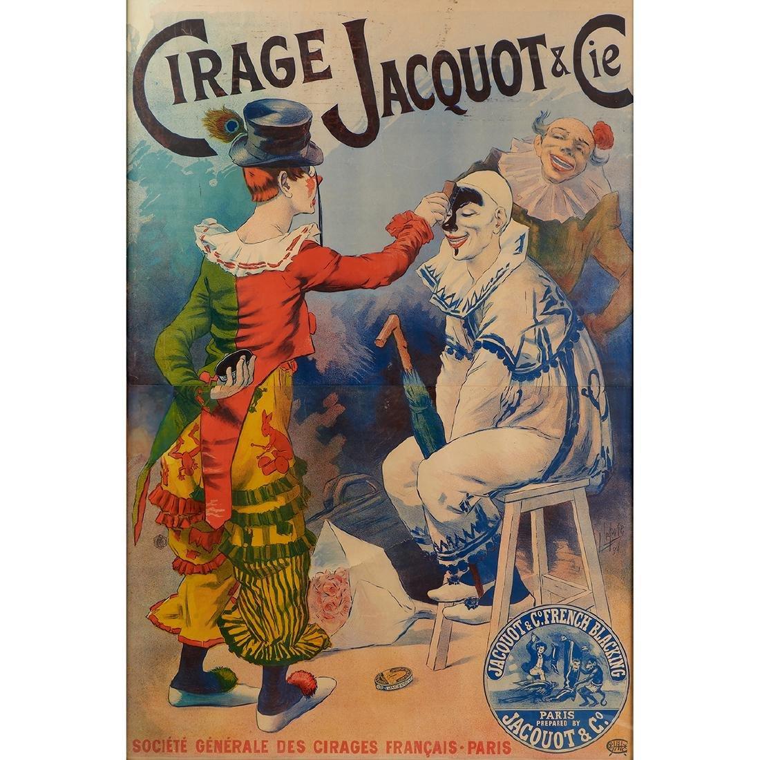 Lucien Lefevre, Cirage Jacquot & Cie