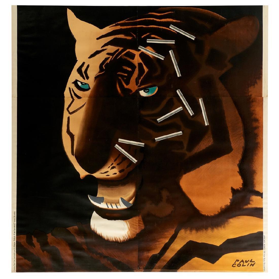 Paul Colin, Cigarettes Tigra Part I and II