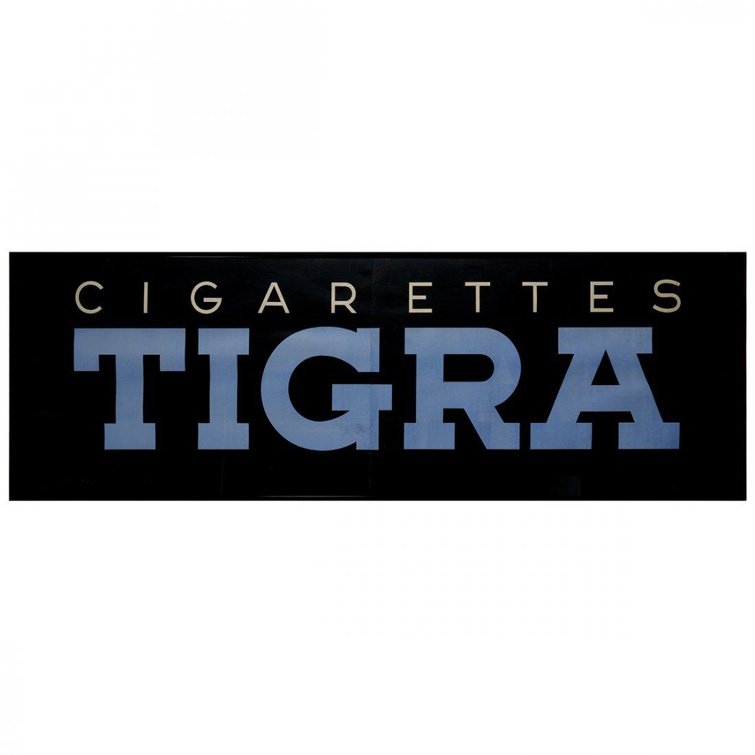 Paul Colin, Cigarettes Tigra Part I and II - 2