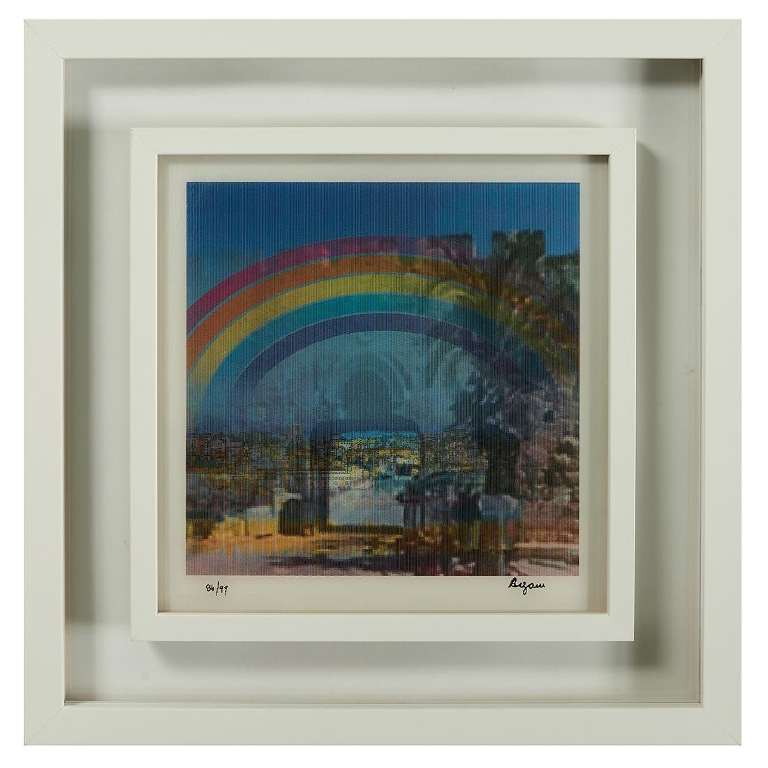 Yaacov Agam, Jerusalem Double Rainbow - 5