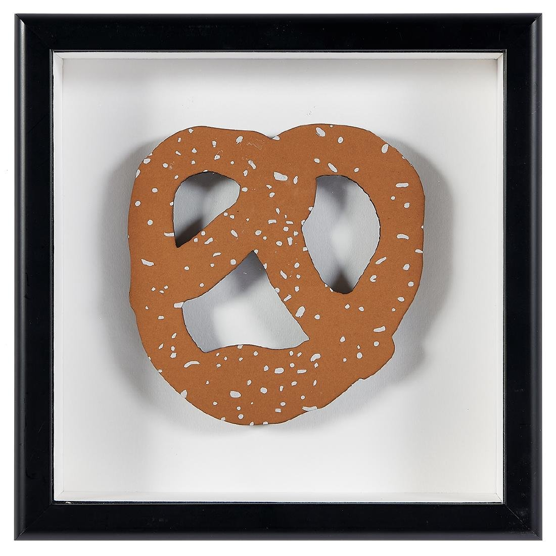 Claes Oldenburg, N.Y.C. Pretzel