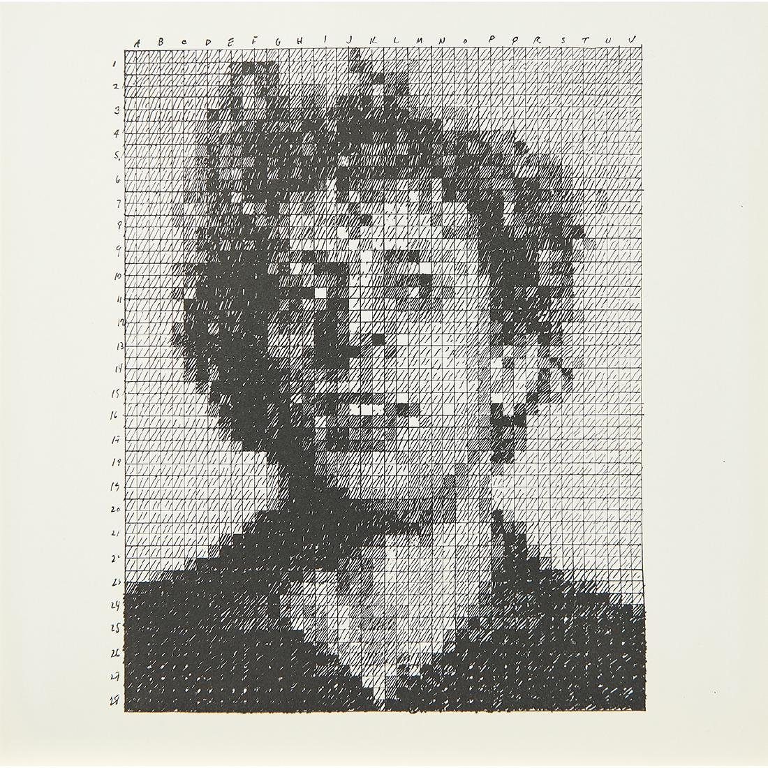 Chuck Close, Tom Wesselmann