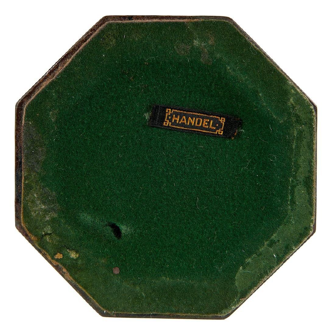 Handel, Obverse Painted Landscape Table Lamp - 4
