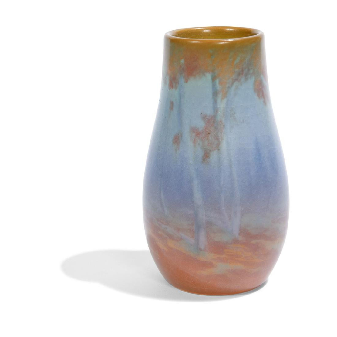 Rookwood, Fred Rothenbusch, Fall Landscape Vase