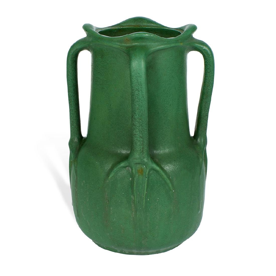 Wheatley Pottery Company, Four-Handled Vase - 2