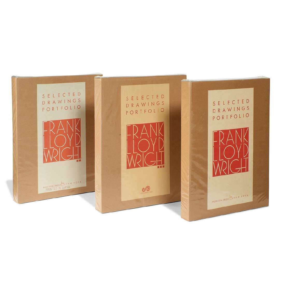 Frank Lloyd Wright, Selected Drawings Portfolio Set