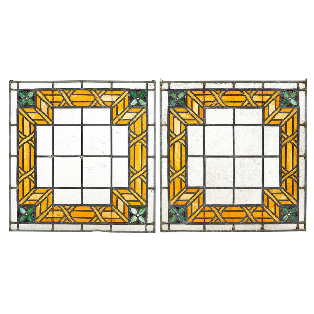 Prairie School, Windows, Pair