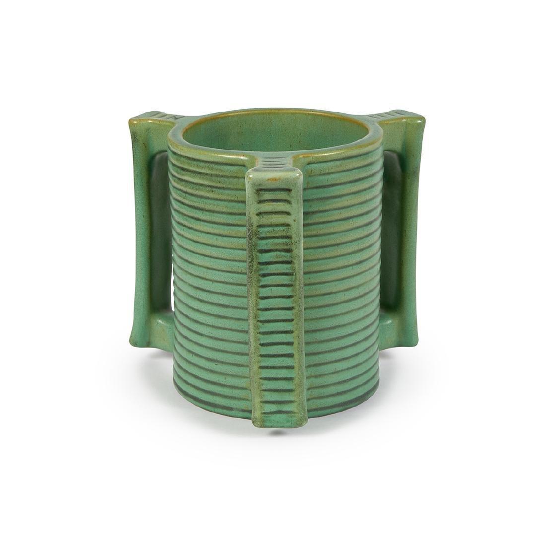 Teco, W.D. Gates, Three-Handled Vase, #278 - 2