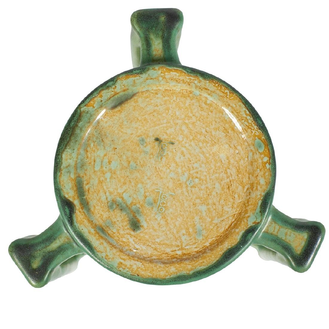 Teco, W.D. Gates, Three-Handled Vase, #278 - 4