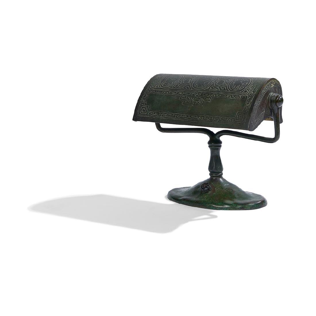 Tiffany Studios, Zodiac Desk Lamp, #414
