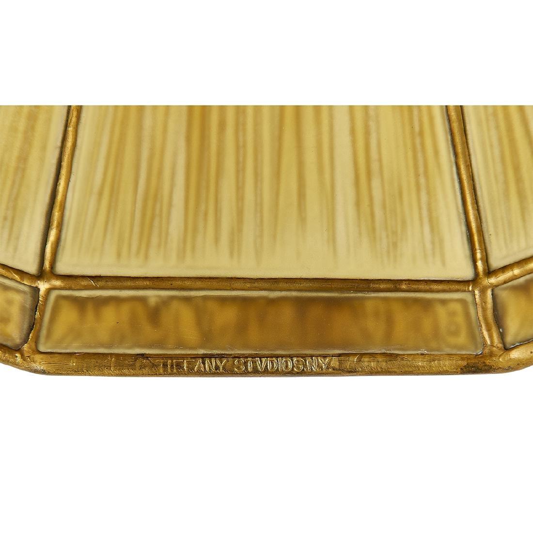 Tiffany Studios, Linen Fold / Graduate Desk Lamp - 4