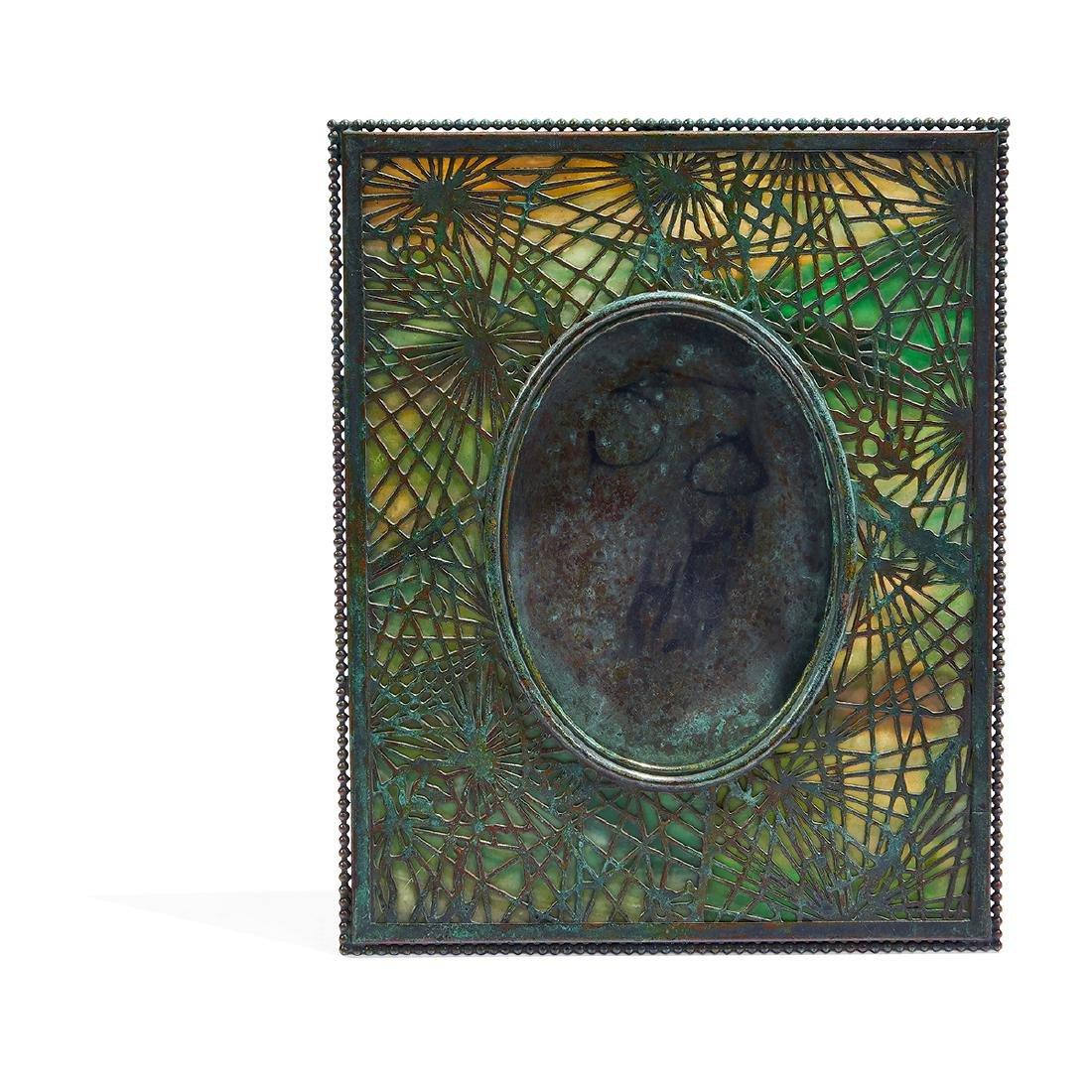 Tiffany Studios, Pine Needle Picture Frame, #946 - 2