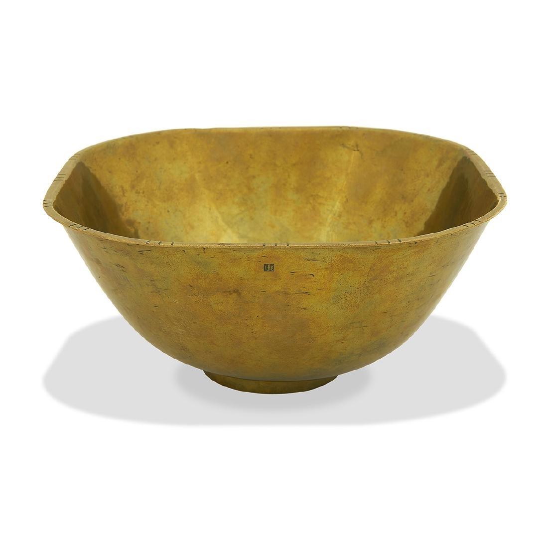Hayno Focken, Brass Bowl