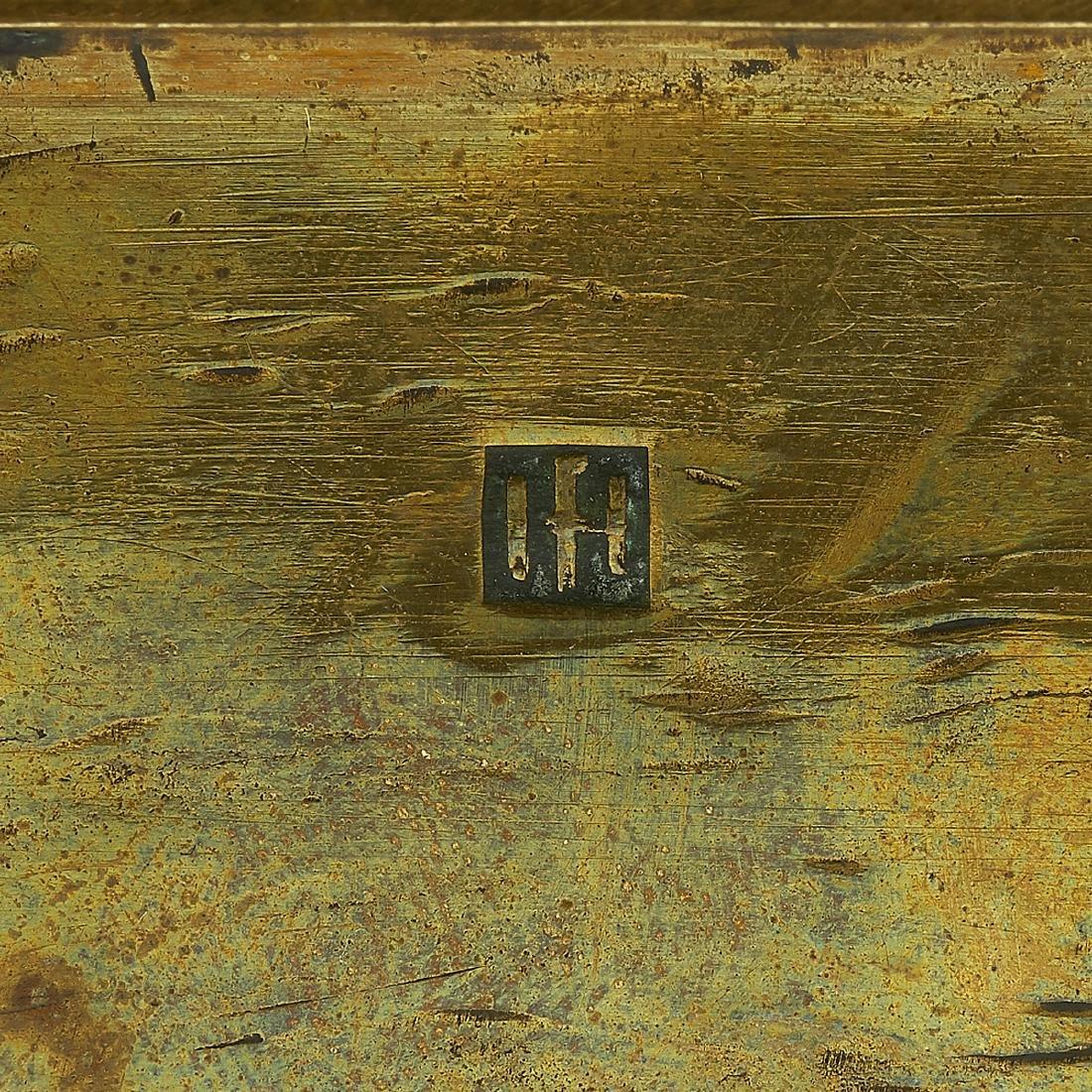 Hayno Focken, Brass Bowl - 2
