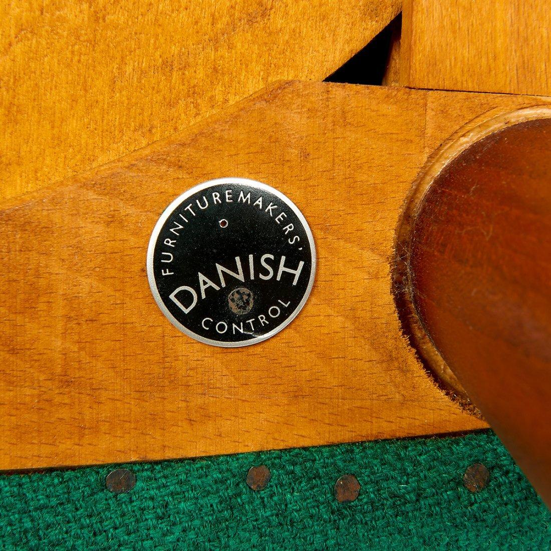 Hans Wegner AP Stolen Papa Bear chair & ottoman - 3