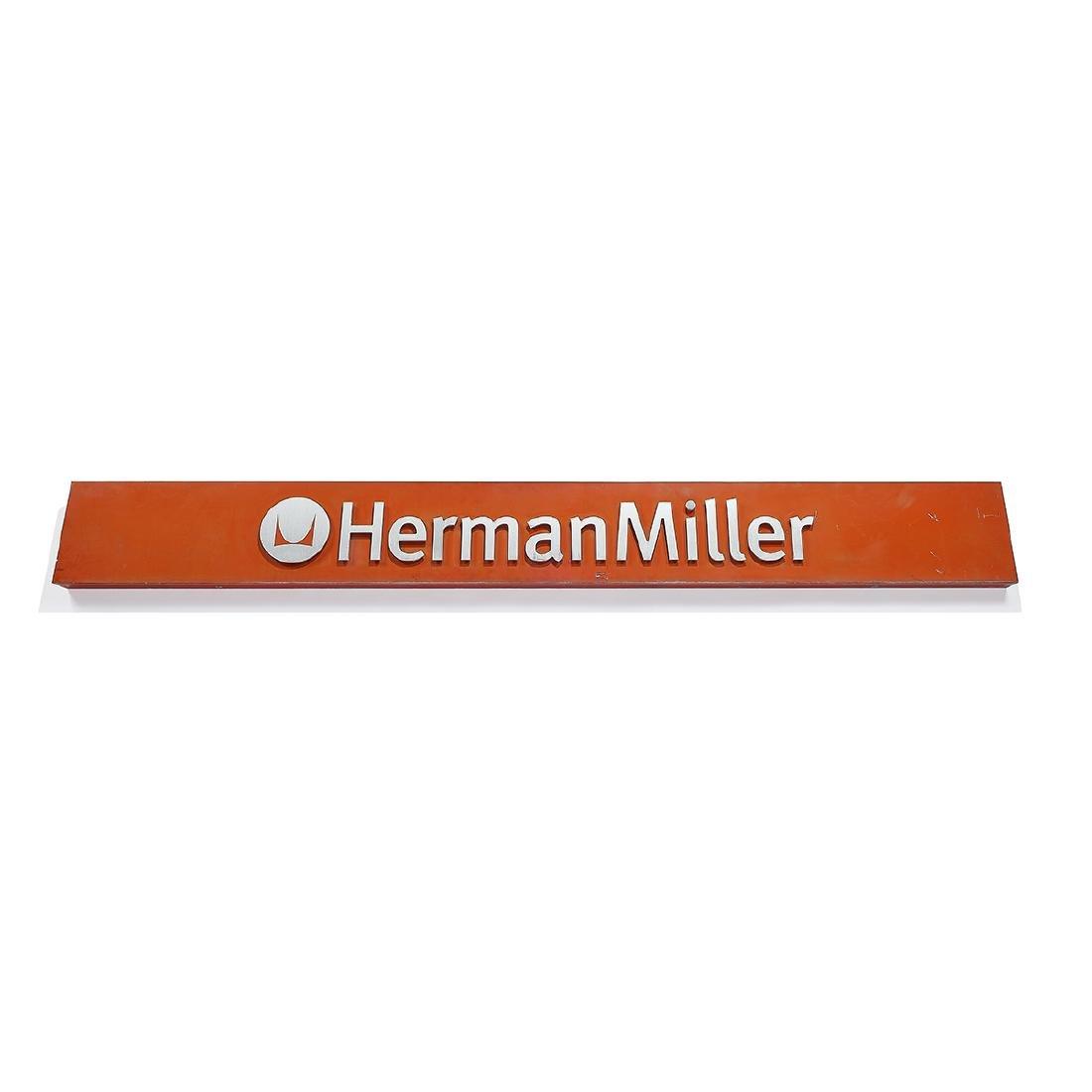 Herman Miller, Inc. large outdoor sign