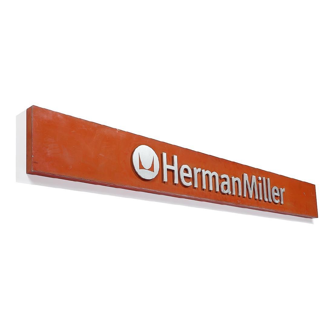 Herman Miller, Inc. large outdoor sign - 2