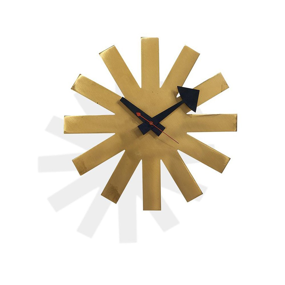 George Nelson & Associates rare Asterisk clock