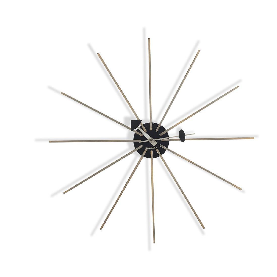 George Nelson Associates Spike clock model 2227A