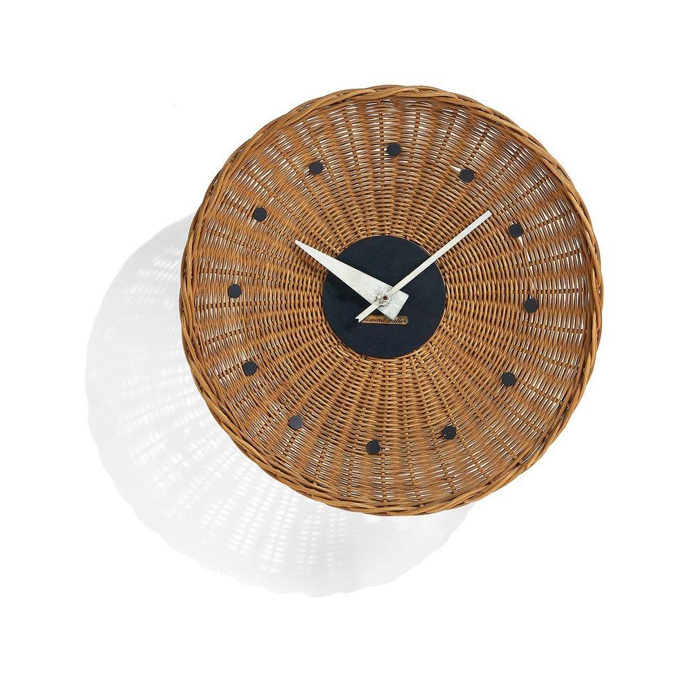 George Nelson Associates Basket clock model 2155