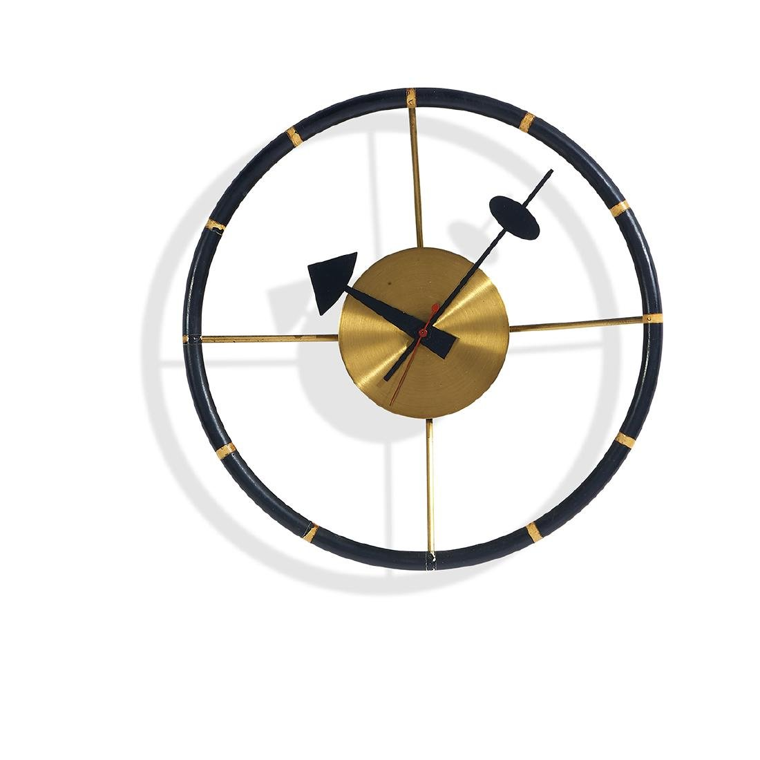 George Nelson Associates Steering Wheel clock