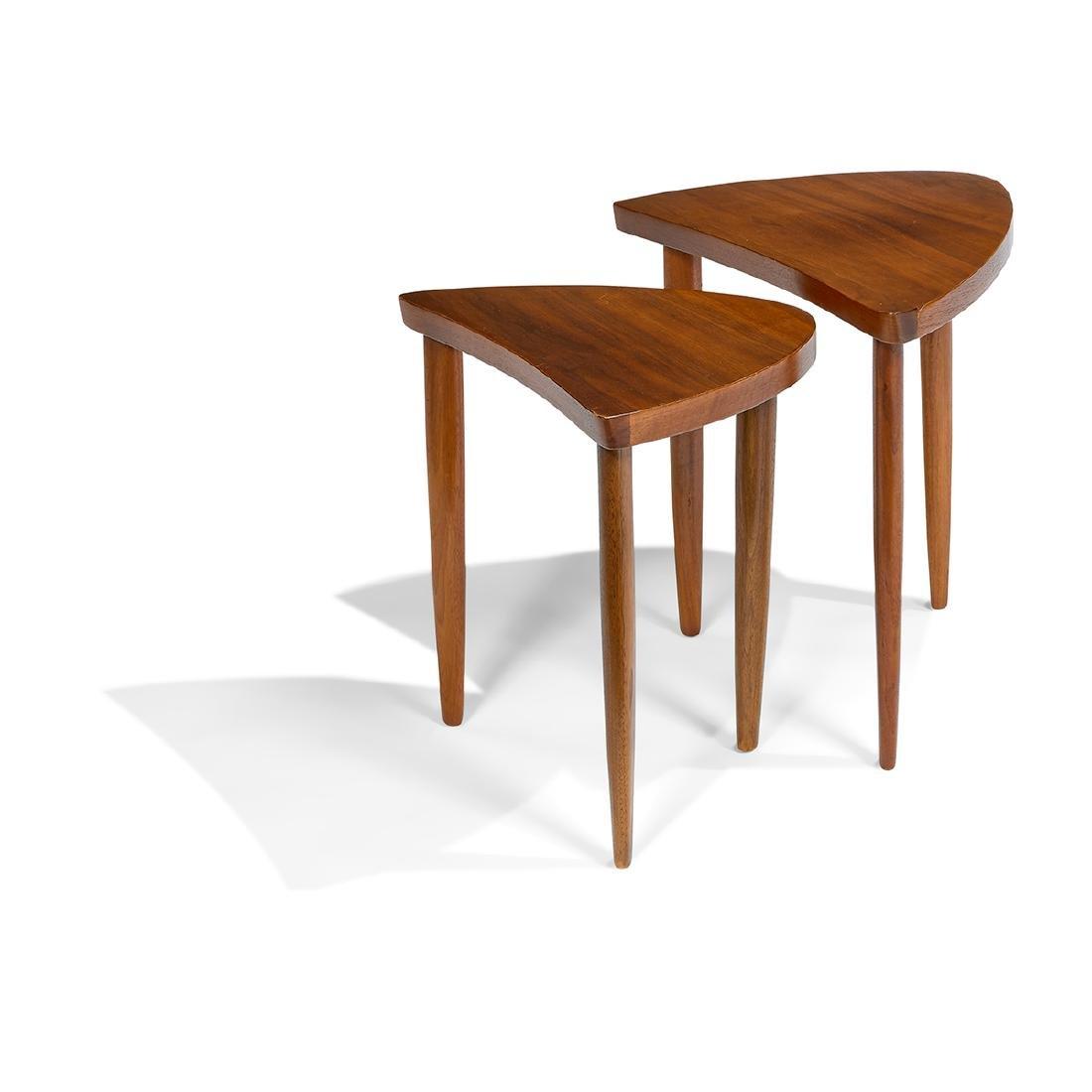 George Nakashima For Widdicomb Nesting Tables
