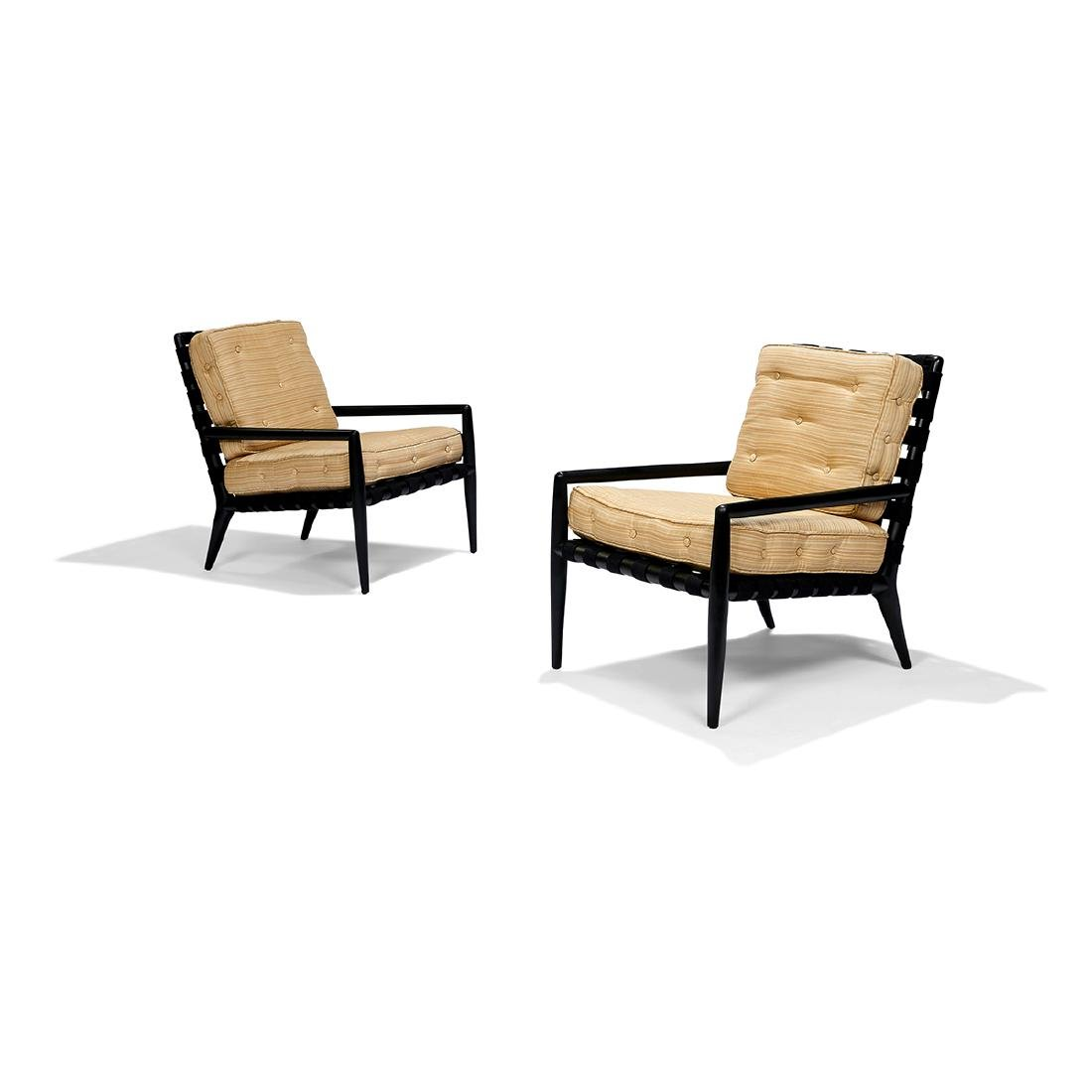 T.H. Robsjohn-Gibbings / Widdicomb lounge chairs