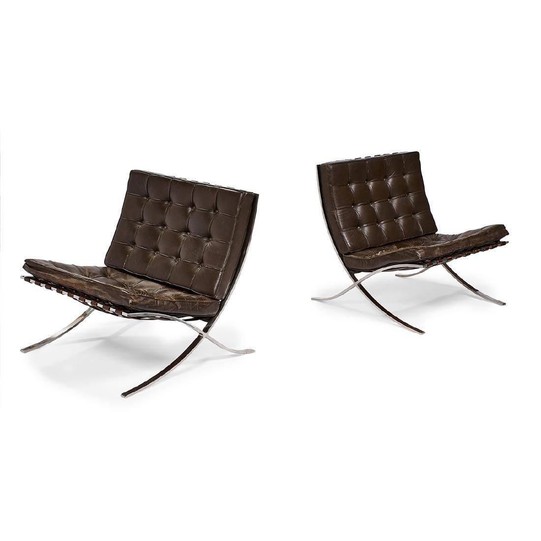 Mies van der Rohe / Knoll Assoc. Barcelona chairs