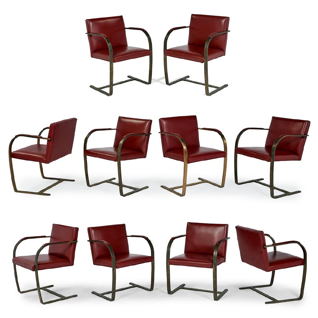 Mies van der Rohe for Knoll BRNO chairs, 10