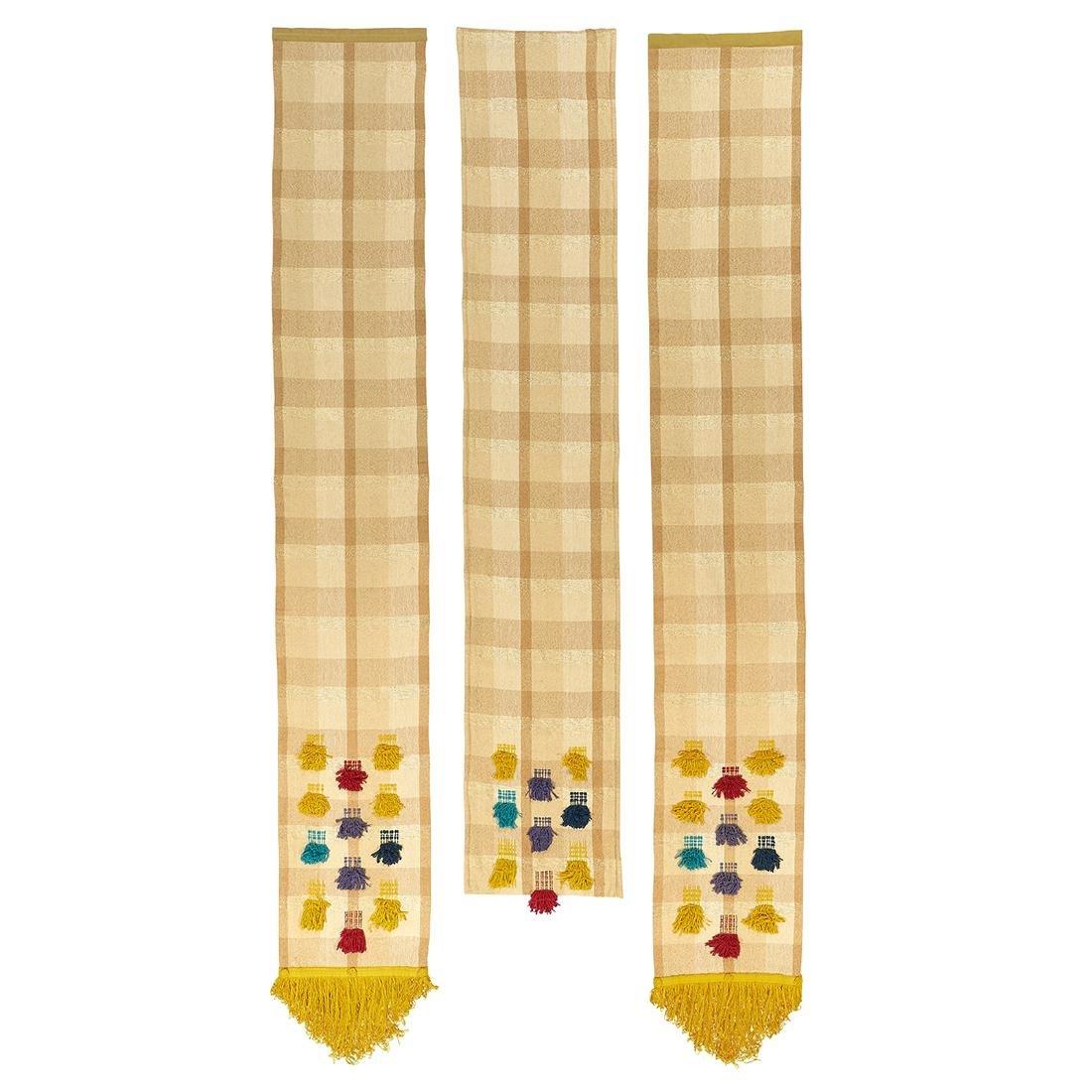 Maria Kipp fabric panels, three