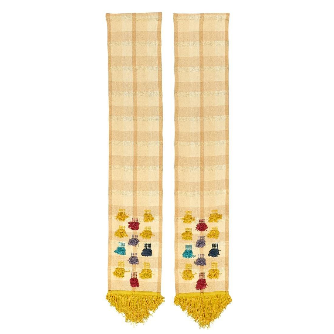 Maria Kipp  fabric panels, pair