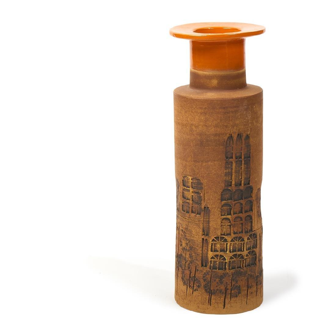 Aldo Londi for Raymor 'Campus' vase