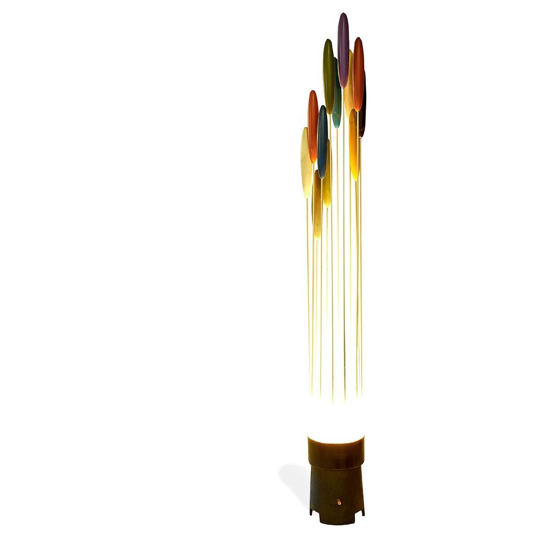 Bill Curry for Design Line 'Catailite' lamp (Cattail) - 3