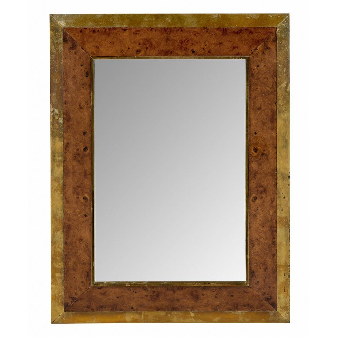 Willy Rizzo attribution wall mirror