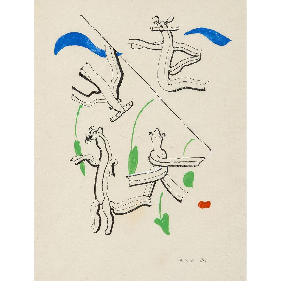 Mary Callery, Studies, 1955, three works