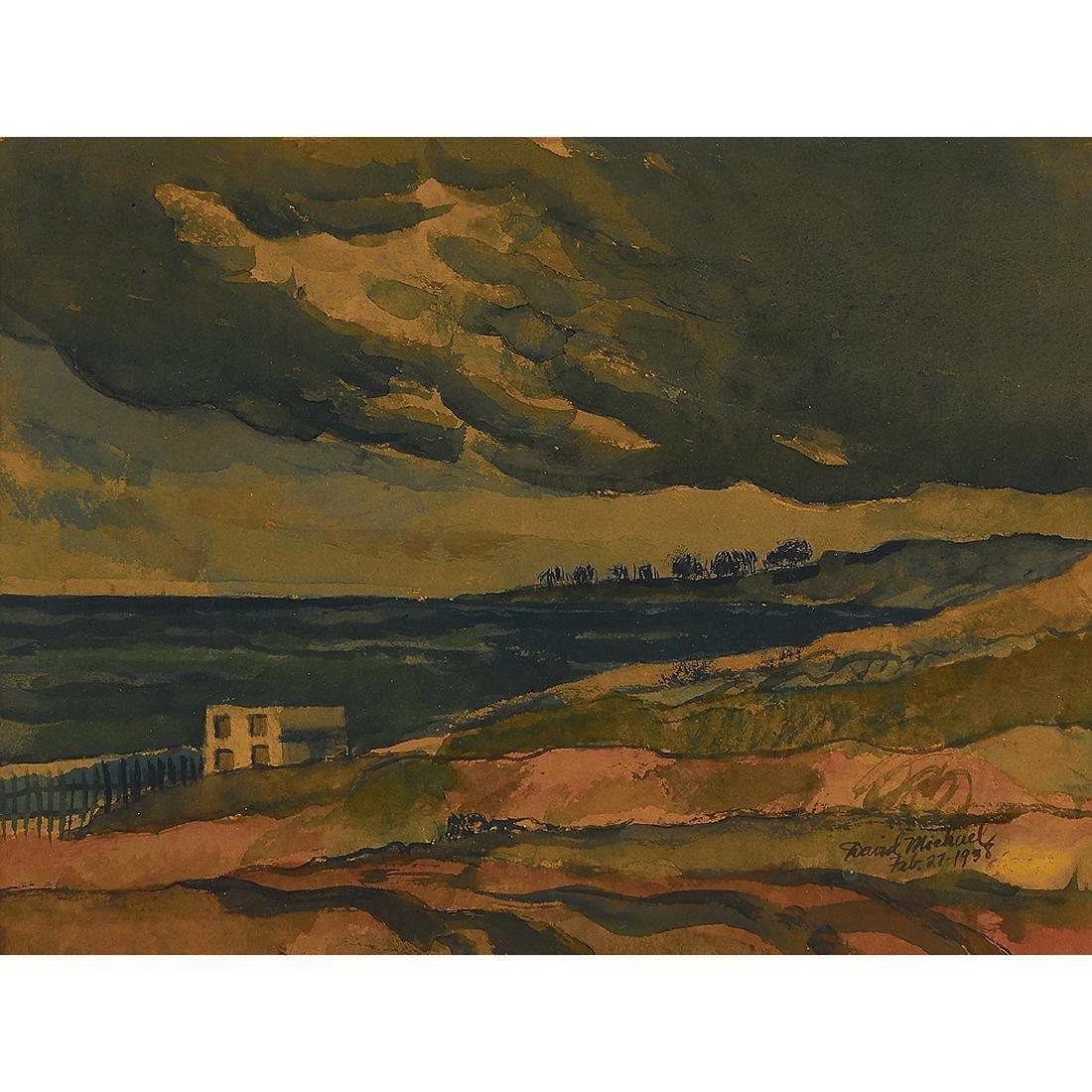 David Michael, Landscape, 1938