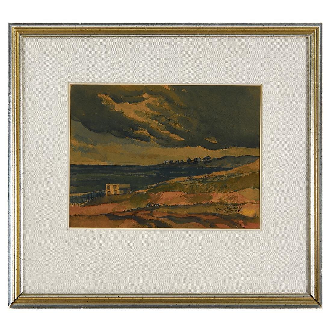 David Michael, Landscape, 1938 - 2