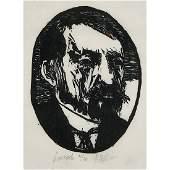 Leonard Baskin, Portraits, pair