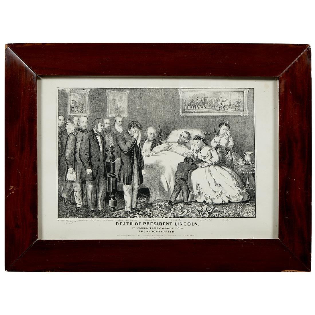 Abraham Lincoln, (3) Currier & Ives Lithographs
