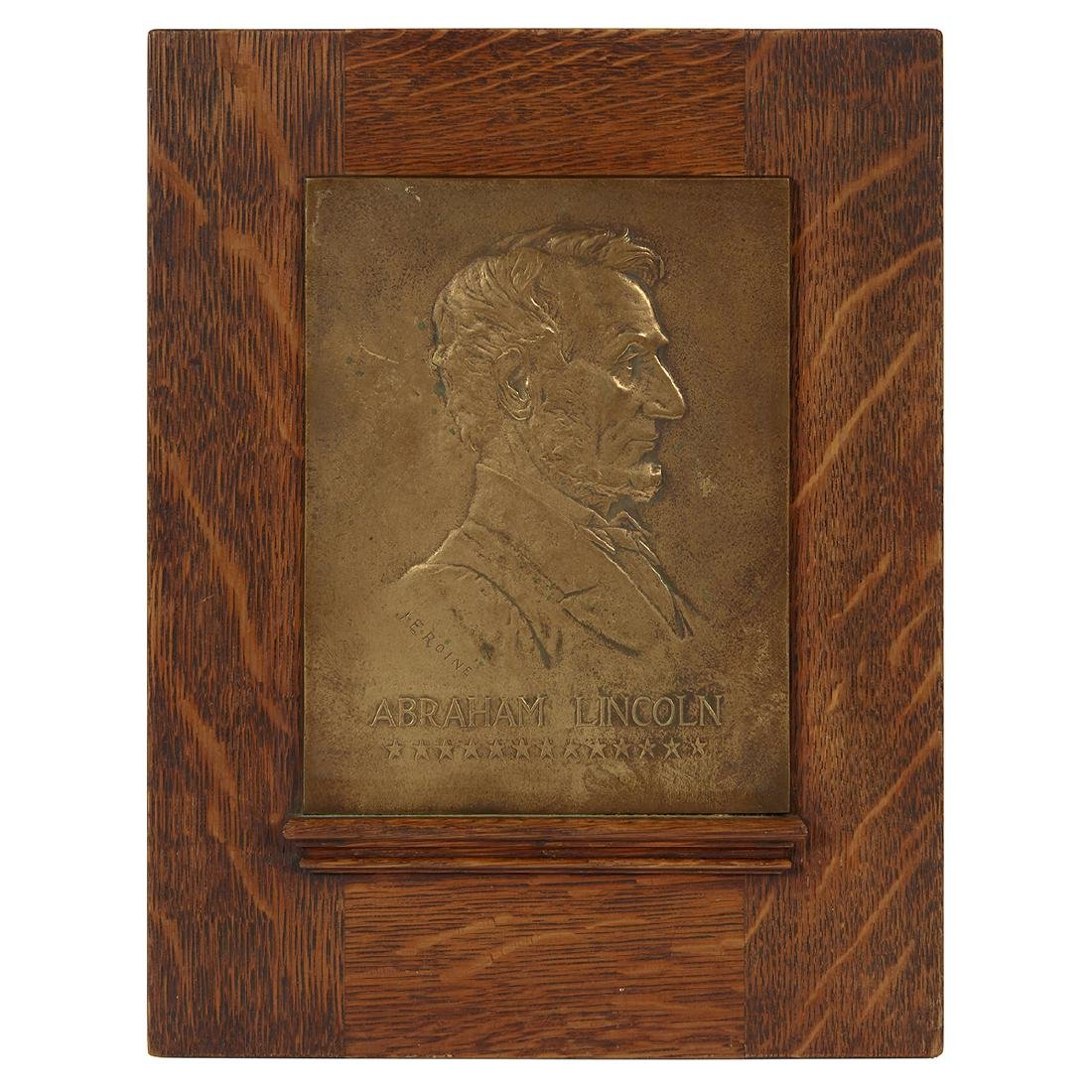 Jules Édouard Roiné/Gorham Mfg., Abraham Lincoln