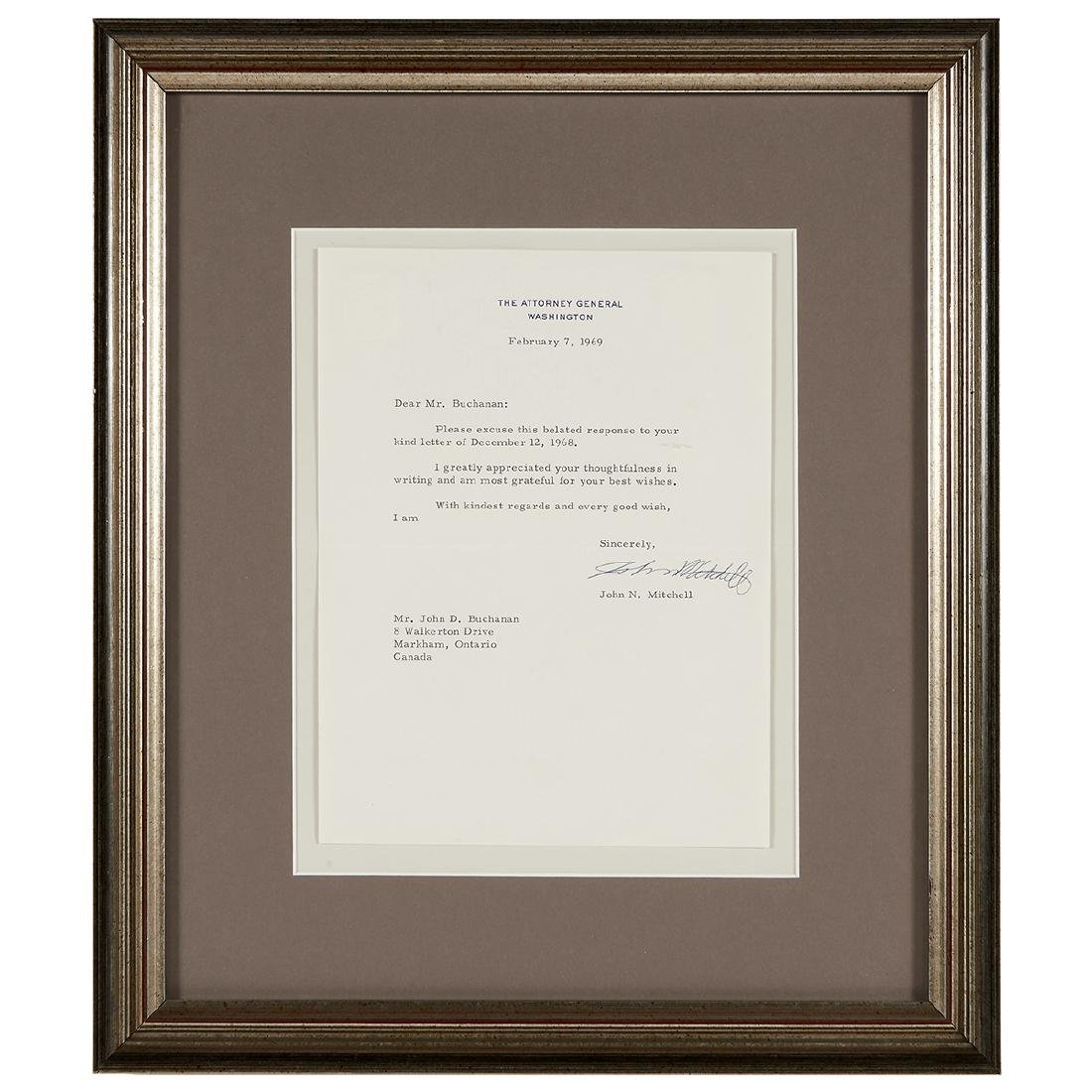 Richard Nixon, (5) Signed Letters - 3