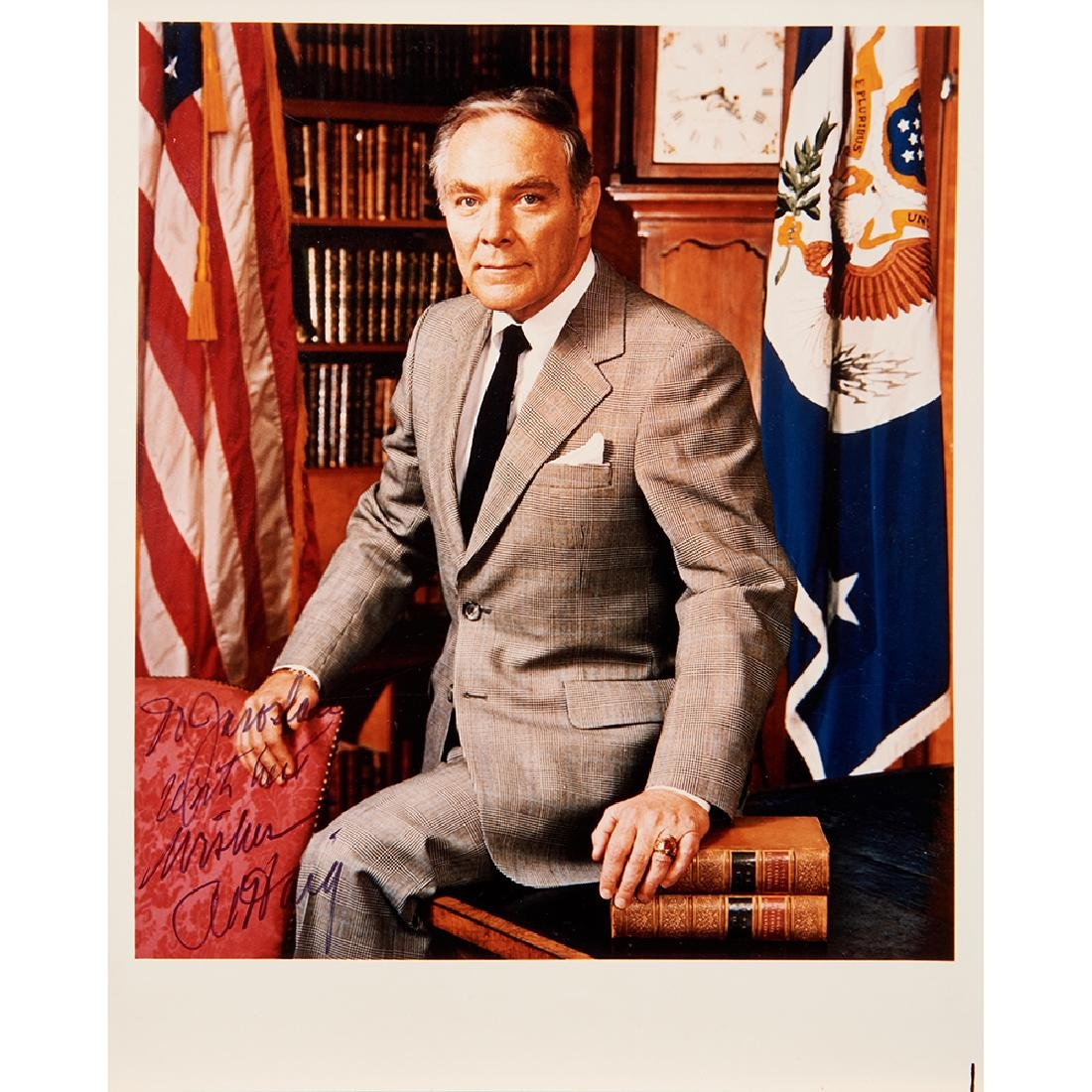 Watergate, (3) Signed Letters and (4) Photographs
