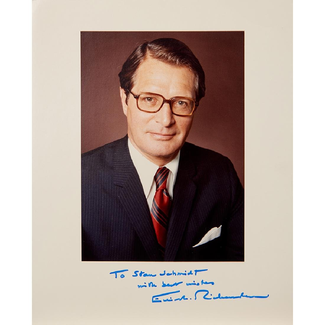 Watergate, (3) Signed Letters and (4) Photographs - 2