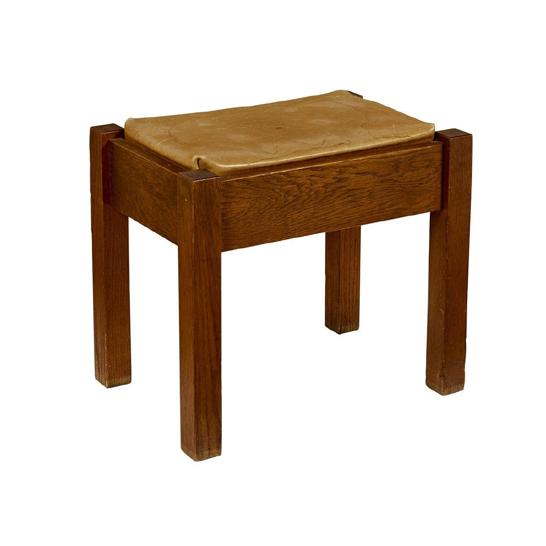 Stickley Brothers footstool, #5267