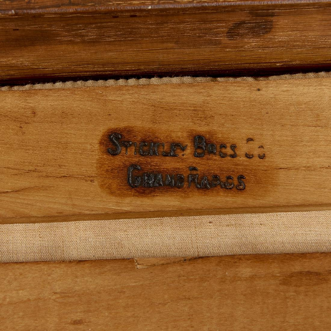 Stickley Brothers footstool, #5267 - 2