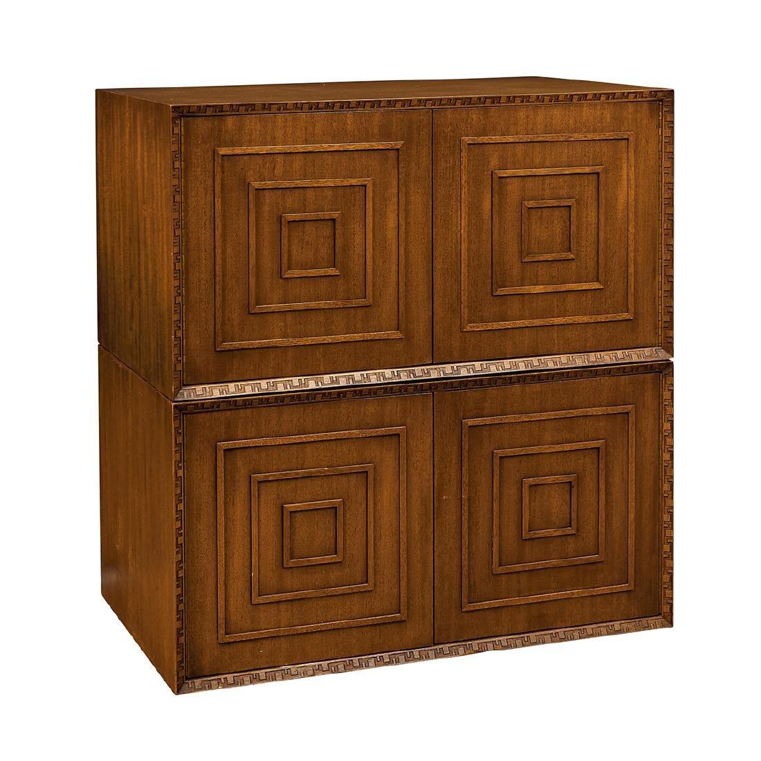 Frank L. Wright Heritage Henredon Cabinets, Pair