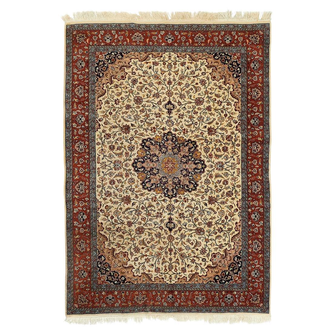Persian Isfahan area rug