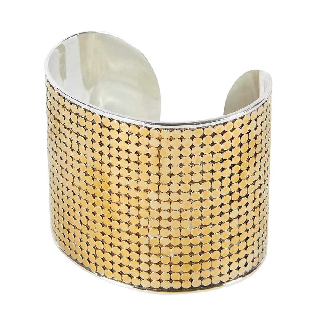 Anna Beck Gili wide cuff bracelet