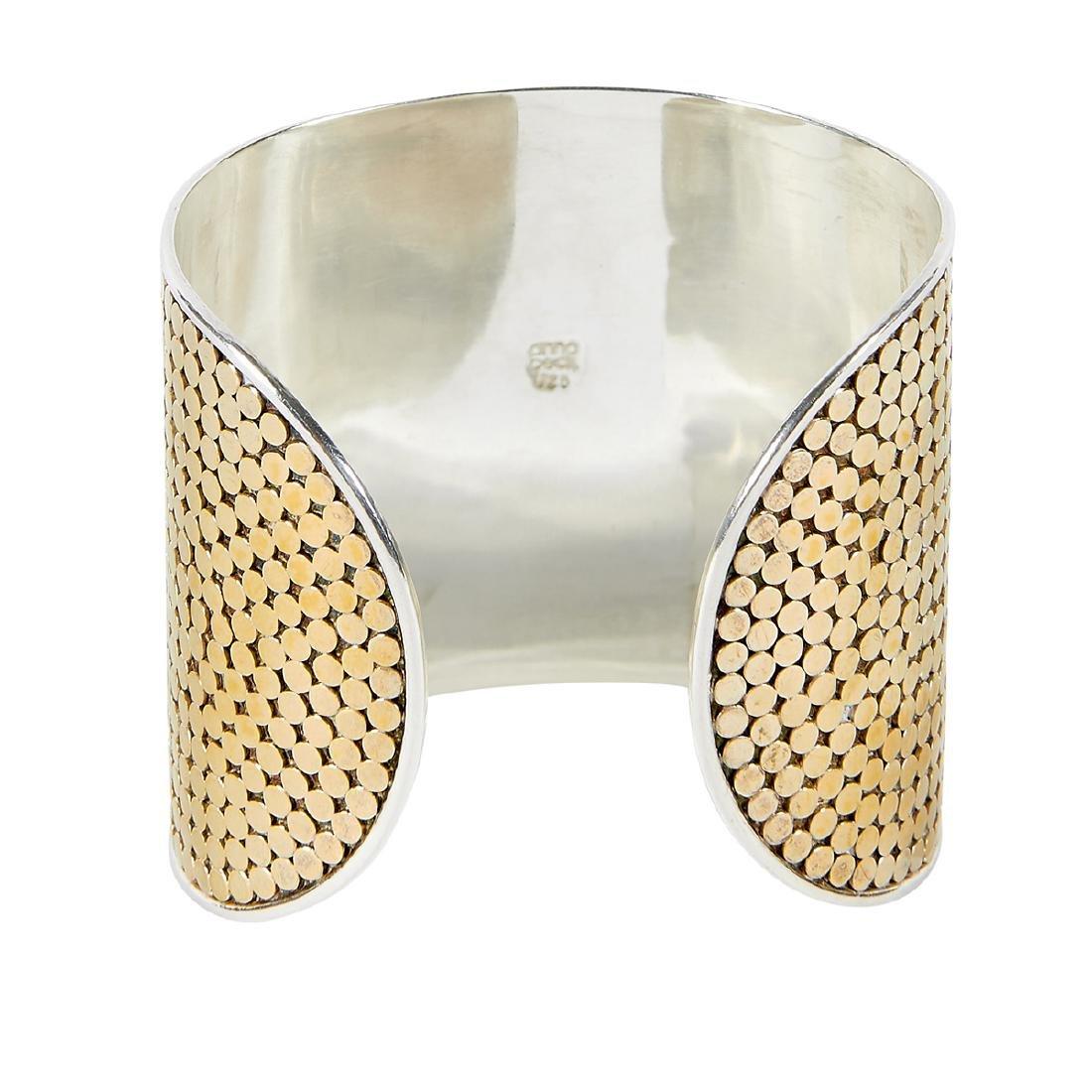 Anna Beck Gili wide cuff bracelet - 2